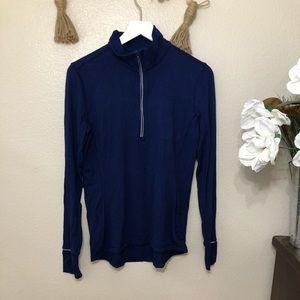 Lululemon 3/4 Zip running jacket